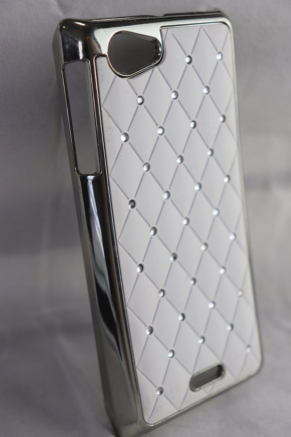 Capa Sony Xperia J - Strass Cravejados Luxo