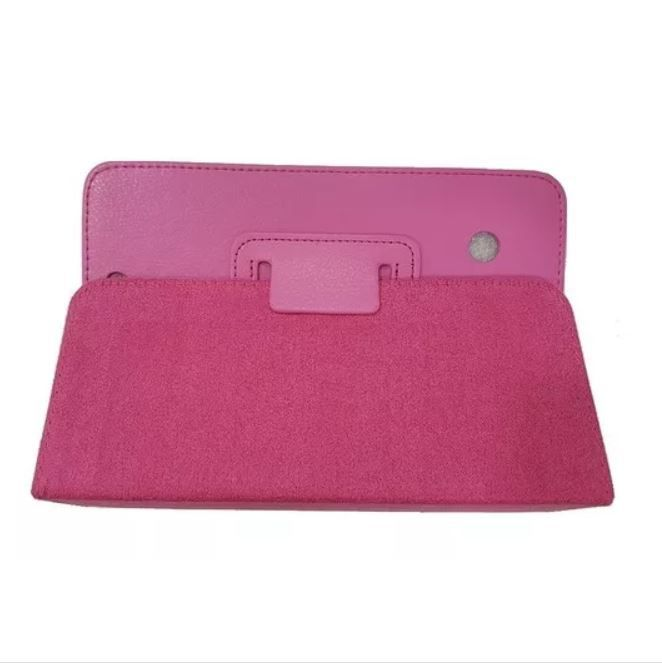 Capa Tablet Cce Motion Tab Te71 Magnética Couro Sint. Rosa
