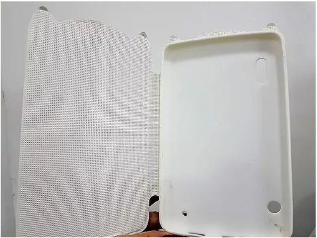 Capa Tablet Cce Motion Tab Tr71 7' Magnética Coruja