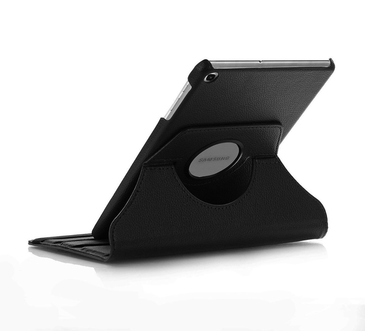 Capa Tablet Galaxy Tab A 10.1 T510 T515 Giratória Executiva Preta