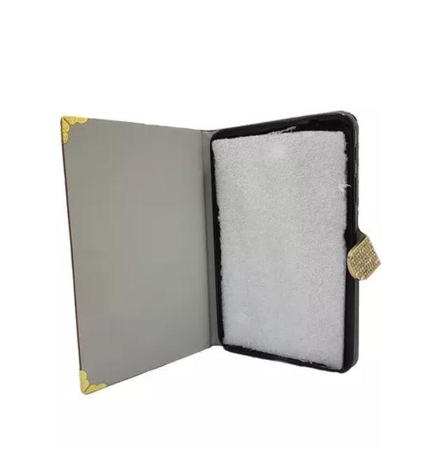 Capa Tablet Samsung Galaxy Tab 4 8.0 Luxo Onçinha Marrom