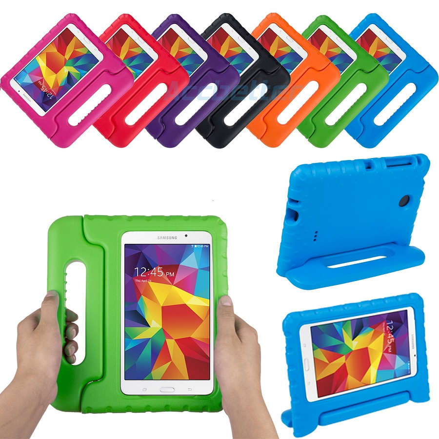 7fdb2c562 Capa Tablet Samsung Galaxy Tab 7.0   Infantil Anti Impacto com Alça