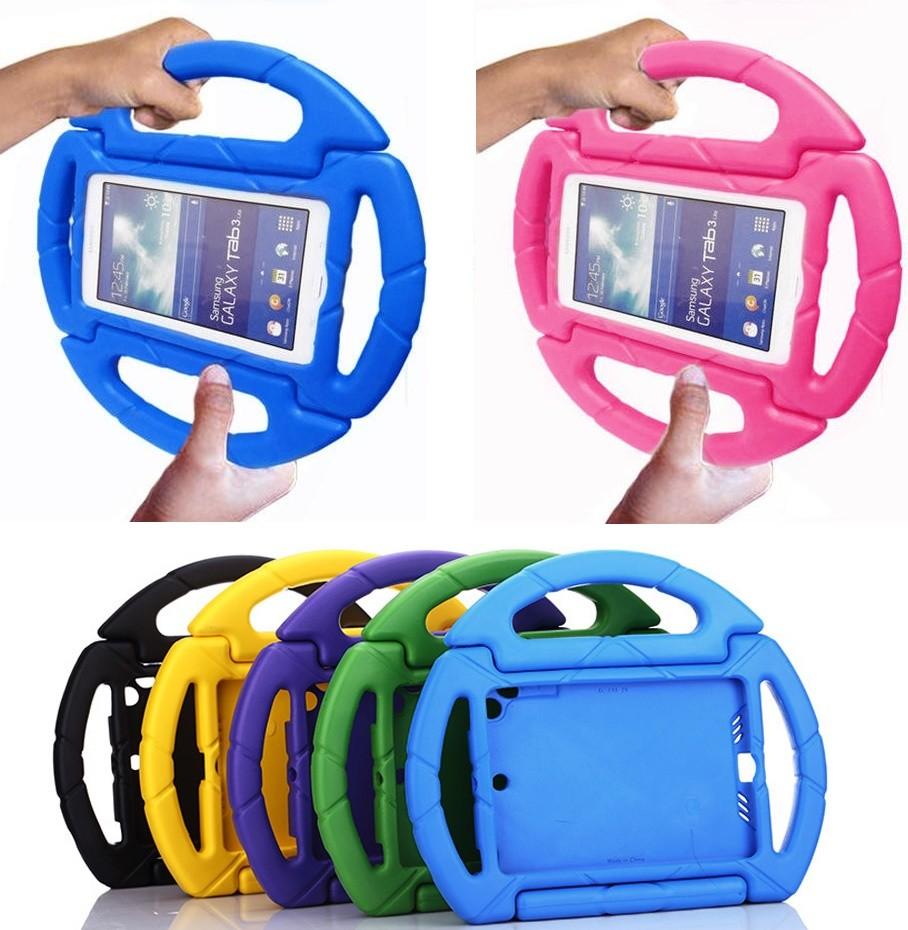 Capa Tablet Samsung Galaxy Tab 7.0 Infantil Anti Impacto Volante