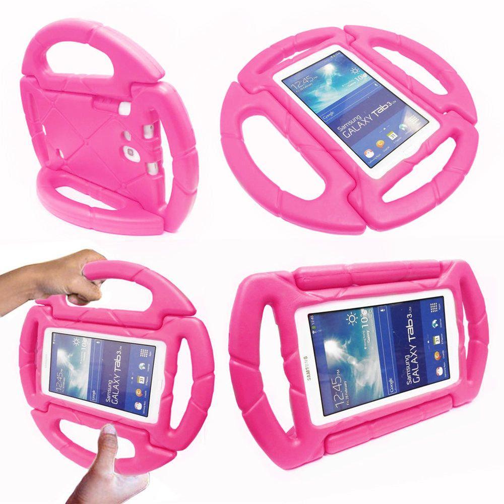 Capa para Tablet Samsung Galaxy Tab A6 A7 T280 T285 7' Anti Choque Infantil Volante
