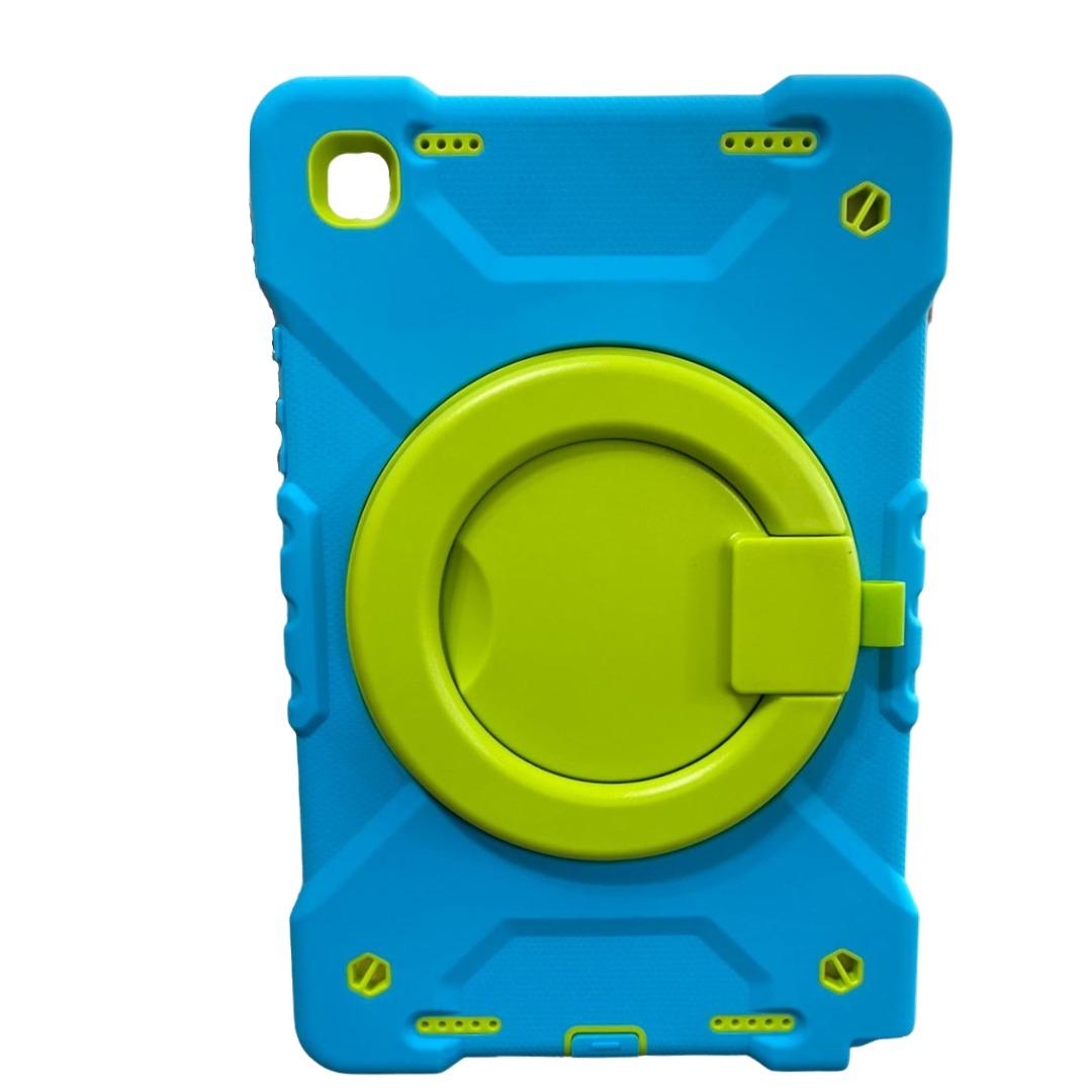Capa Tablet Samsung Galaxy Tab A7 10.4 T500 T505 Armadura c/ Apoio Azul
