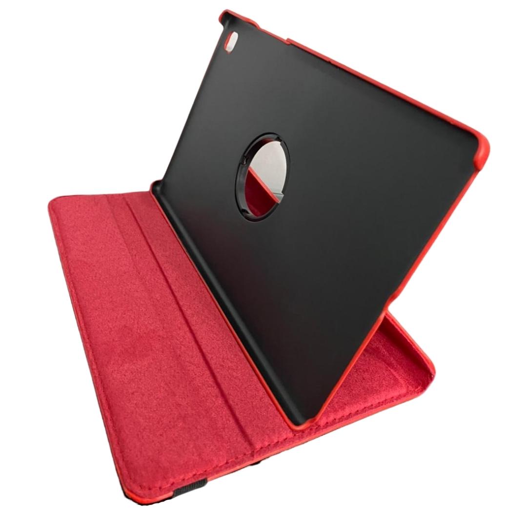 Capa Tablet Samsung Galaxy Tab A7 10.4 T500 T505 Giratória Executiva Rotação Vermelha