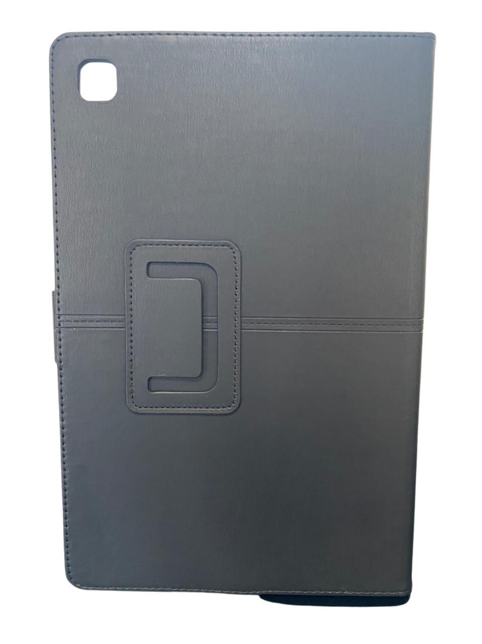 Capa Tablet Samsung Galaxy Tab A7 10.4 T500 T505 Magnética Carteira Dobrável Preta