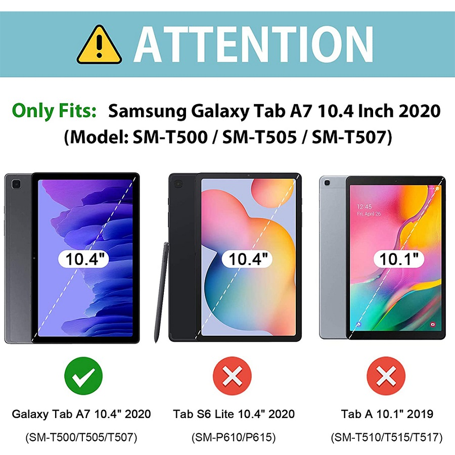 Capa Tablet Samsung Galaxy Tab A7 10.4 T500 T505 Tpu Silicone Verde