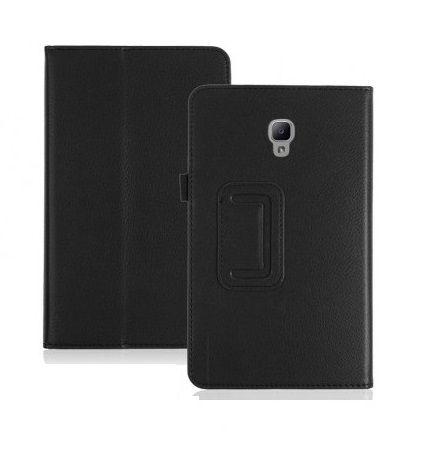 Capa Tablet Samsung Galaxy Tab A 8.0 T385 T380 2017 Magnética Preta + Película de Vidro