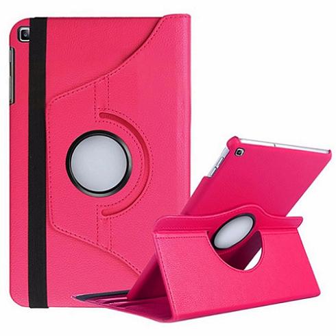 Capa Tablet Samsung Galaxy Tab A 8 T290 T295 2019 Executiva Giratória Rosa