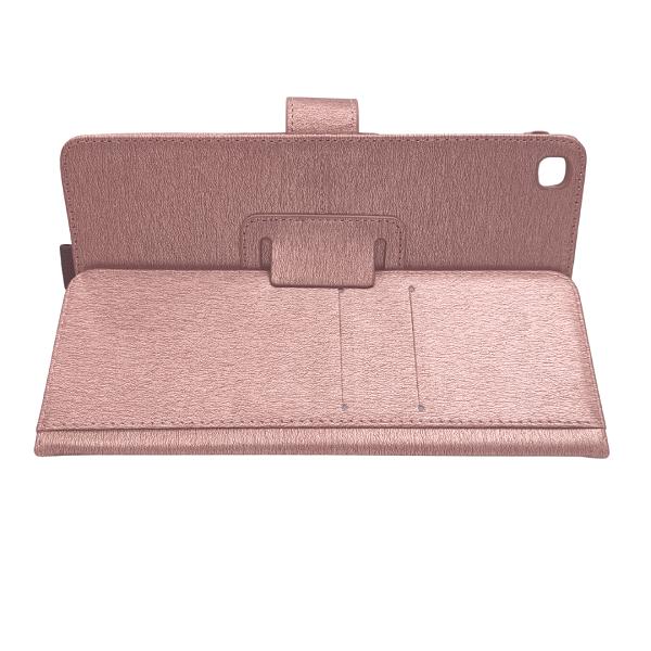 Capa Tablet Samsung Galaxy Tab A 8 T290 T295 Magnética Carteira Dobrável Rose Gold