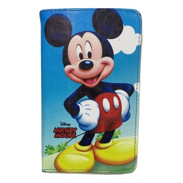 Capa Tablet Samsung Galaxy Tab A 8 T290 T295 Magnética Mickey Mouse