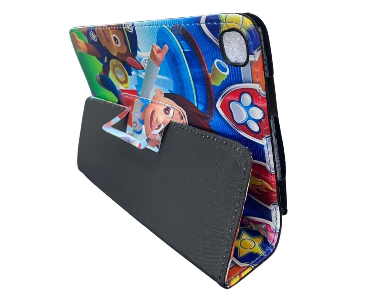 Capa Tablet Samsung Galaxy Tab A 8 T290 T295 Magnética Patrulha Canina