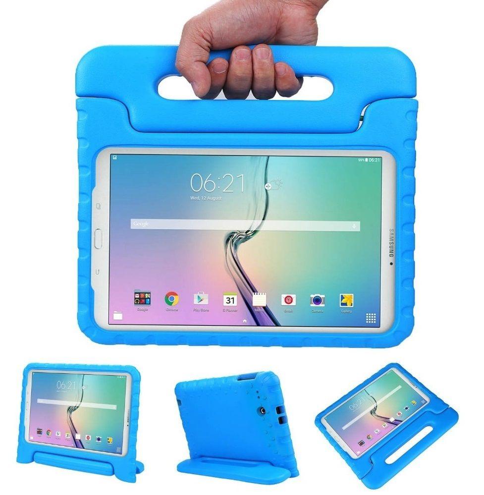 00c44f5b9 Capa Tablet Samsung Galaxy Tab E 9.6 T560 T561 T565 Anti Impacto Infantil  Maleta Azul