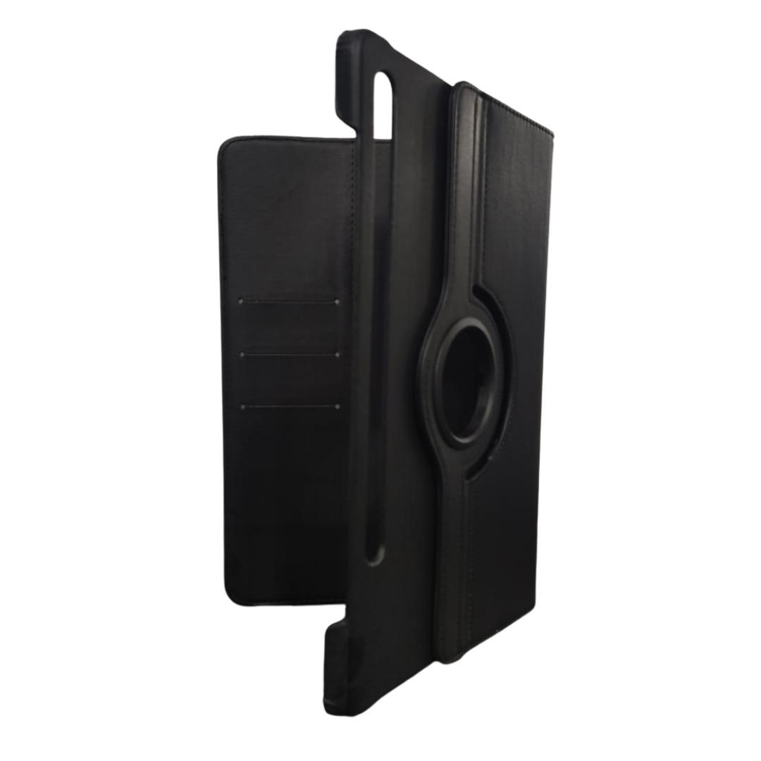 Capa Tablet Samsung Galaxy Tab S7 Tela 11 T870 T875 Giratória Carteira Preta