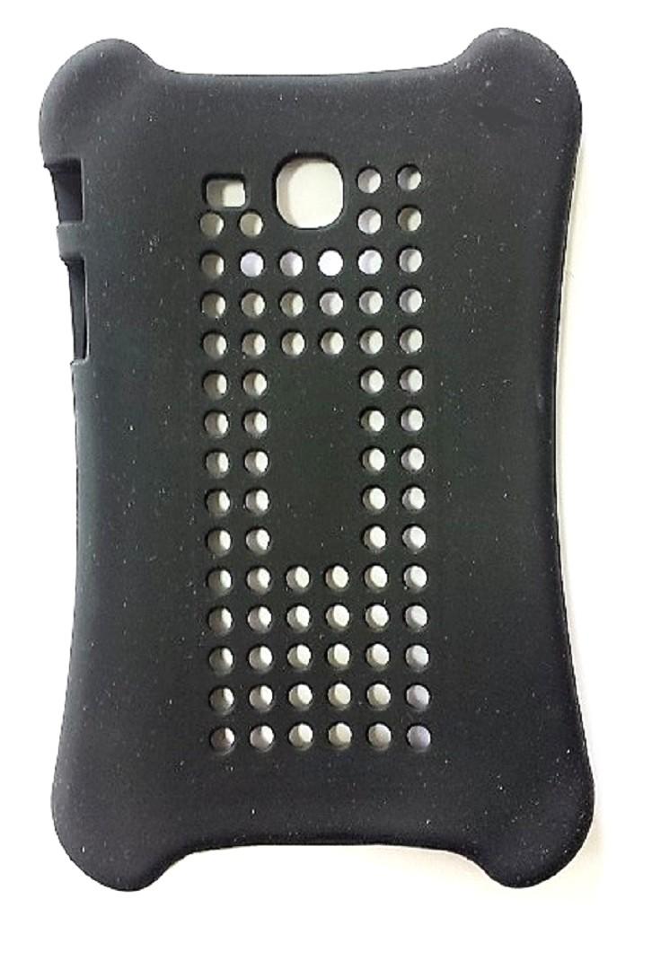 Capa Tablet Samsung Galaxy Tab T110 T111 T113 T116 Traseira Silicone Vazada Preta