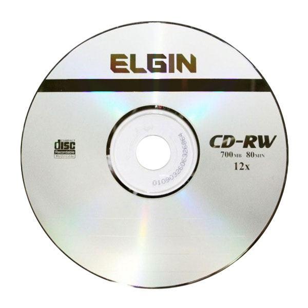 Cd-r gravável (80min/700mb) 52x envelope Elgin 1un