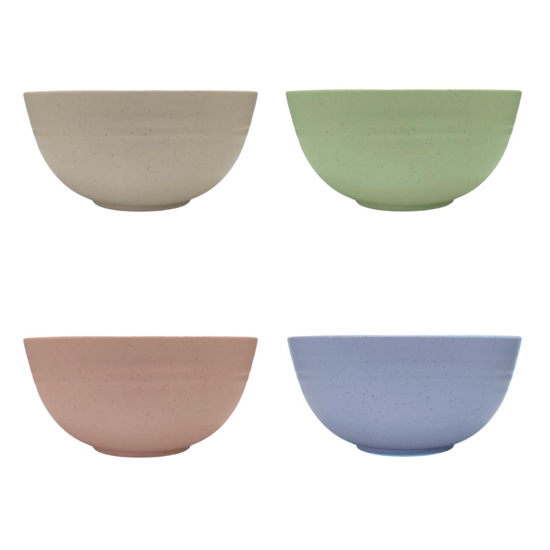 Conjunto de Bowl de Bambu Ecológico Kit com Potes