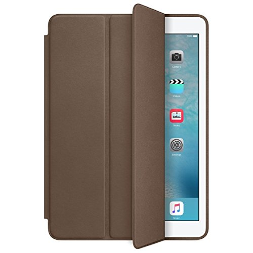 Smart Case Ipad Mini 1 2 3 Apple Sensor Sleep Poliuretano Marrom