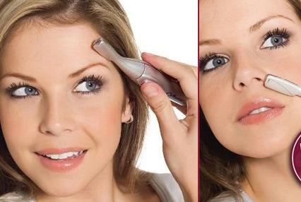 Depilador Portátil Facial e Íntimo Unissex Ultra Fino