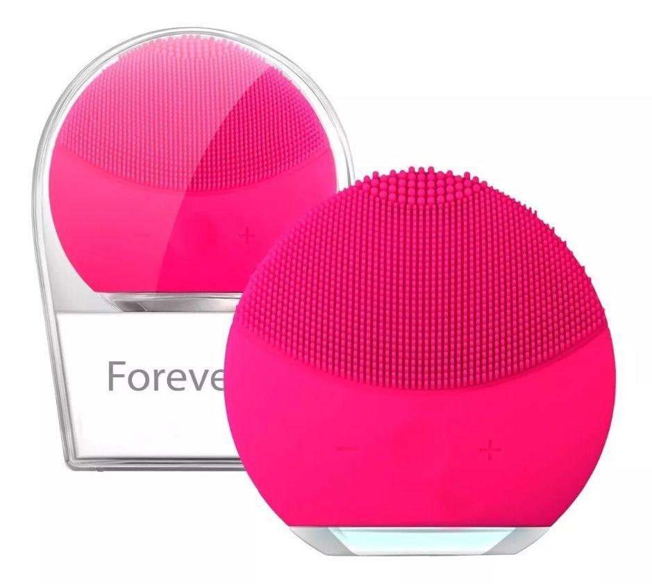 Esponja de Limpeza Facial Elétrica Recarregável Forever Portátil