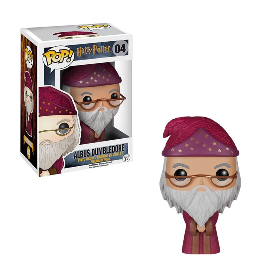 Funko Pop Albus Dumbledore 04 Filme Harry Potter Boneco Colecionável