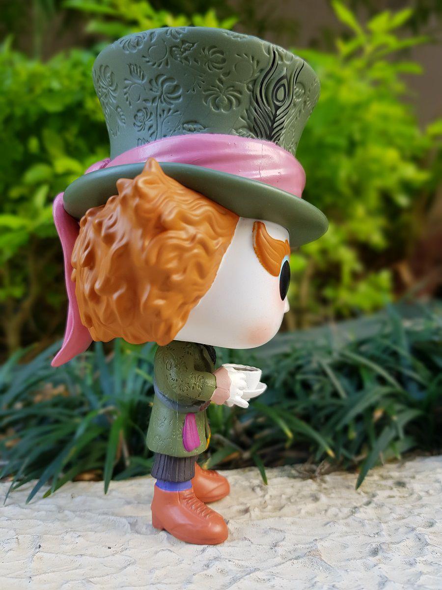 Funko Pop Chapeleiro Alice no País das Maravilhas Disney Boneco Colecionável