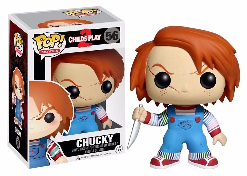 Funko Pop Chucky - Filme Brinquedo Assassino -  Boneco Colecionável