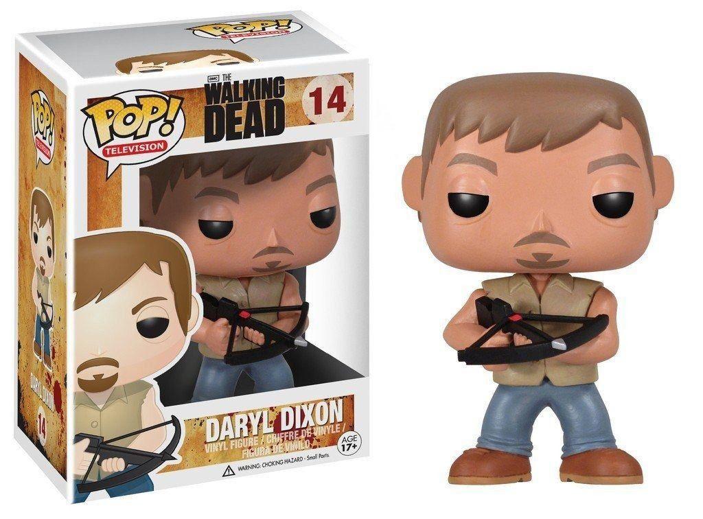 Funko Pop Daryl Dixon 14 Walking Dead Boneco Colecionável