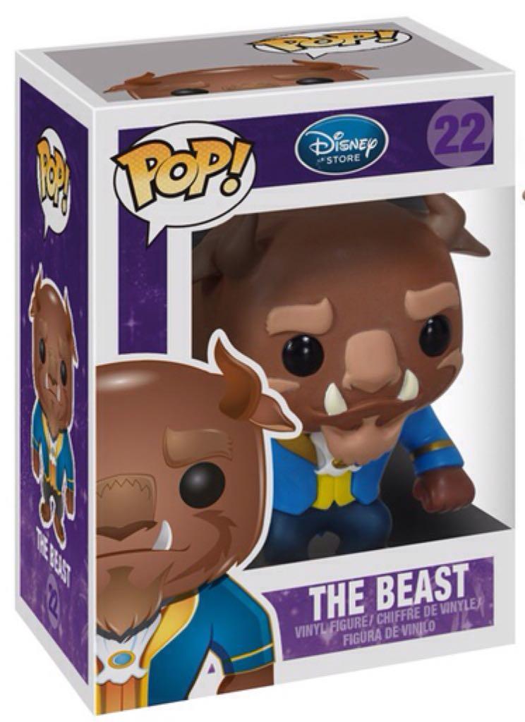 Funko Pop Disney The Beast - A Fera Boneco Colecionável