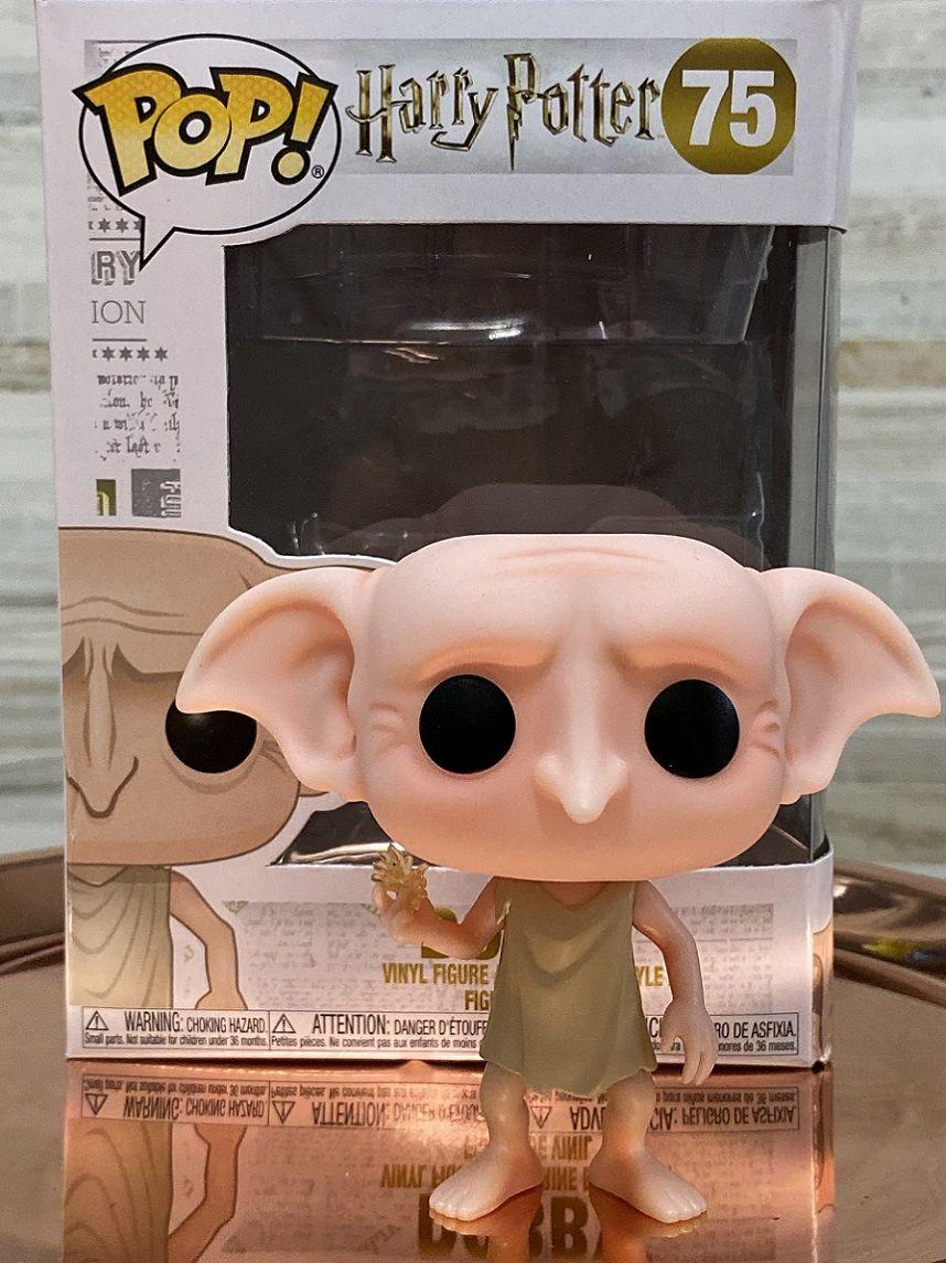 Funko Pop Dobby Harry Potter - Boneco Colecionável Primeiras Edições