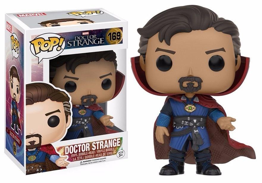 Funko Pop Doutor Estranho 169 Marvel Doctor Strange Boneco Colecionável