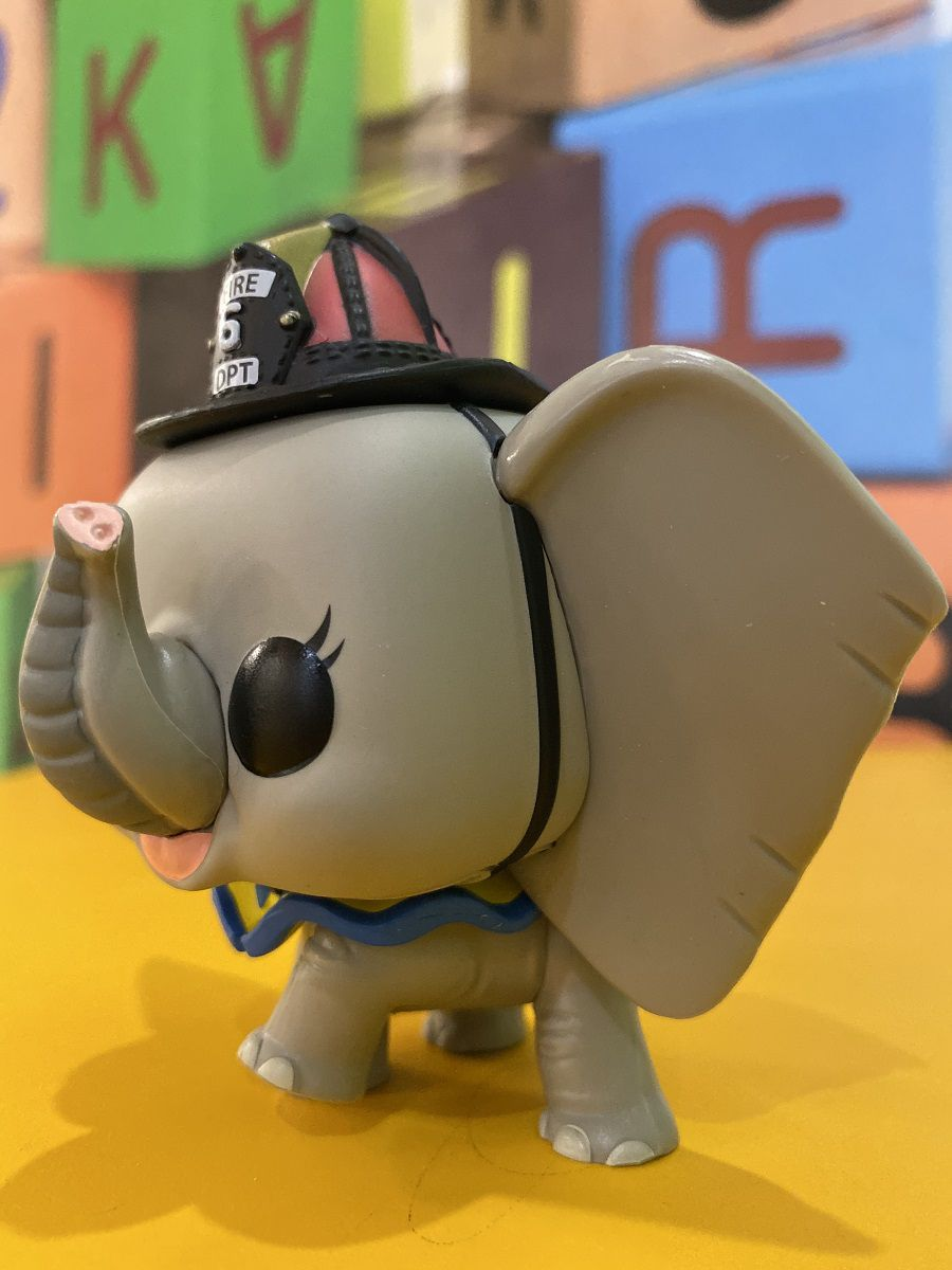 Funko Pop Dumbo Fireman - Disney Boneco Colecionável