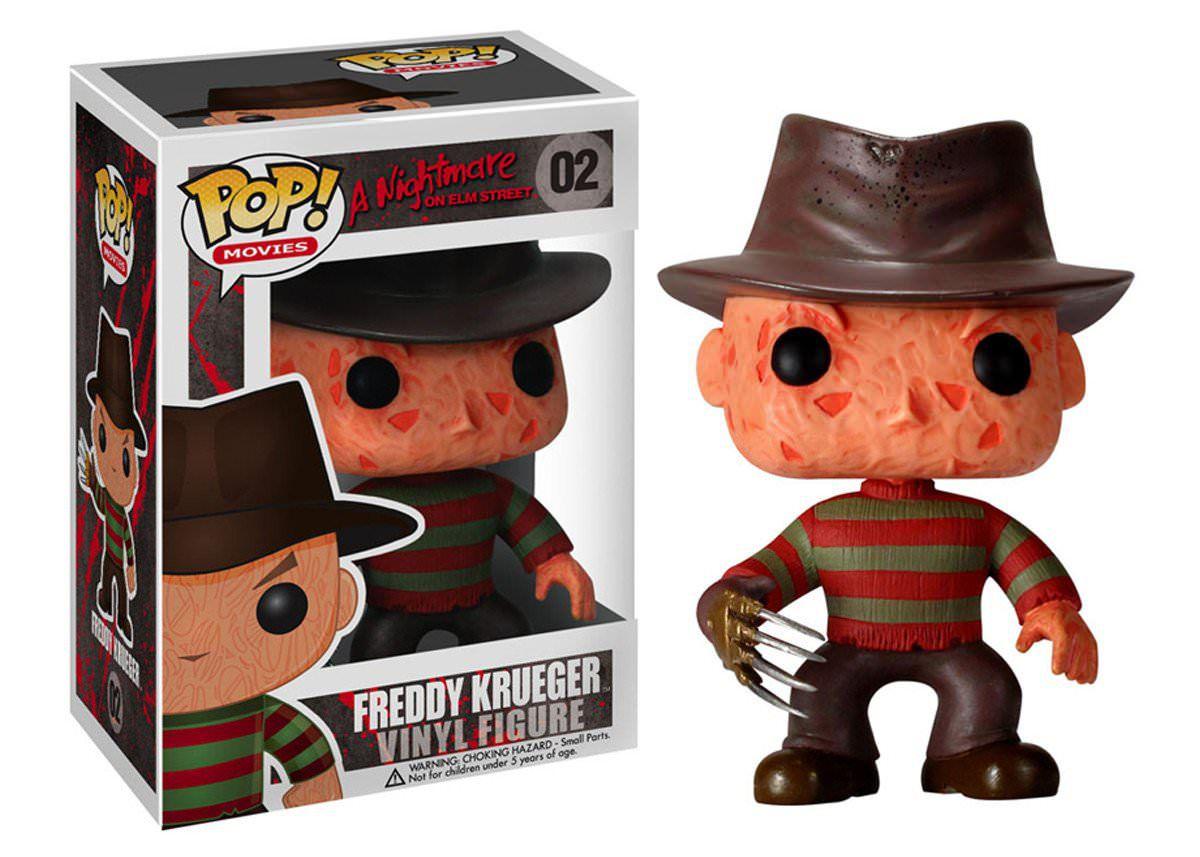 Funko Pop Freddy Krueger Boneco Colecionável Filme A Nightmare on Elm Street / A Hora do Pesadelo