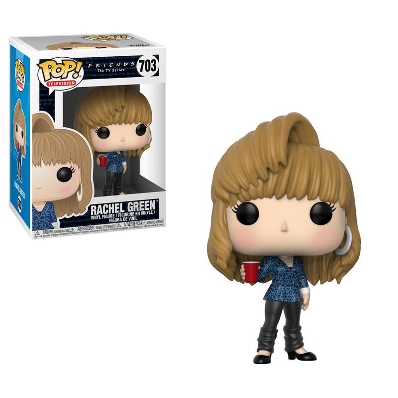 Funko Pop Friends Rachel Green 703 TV Boneco Colecionável