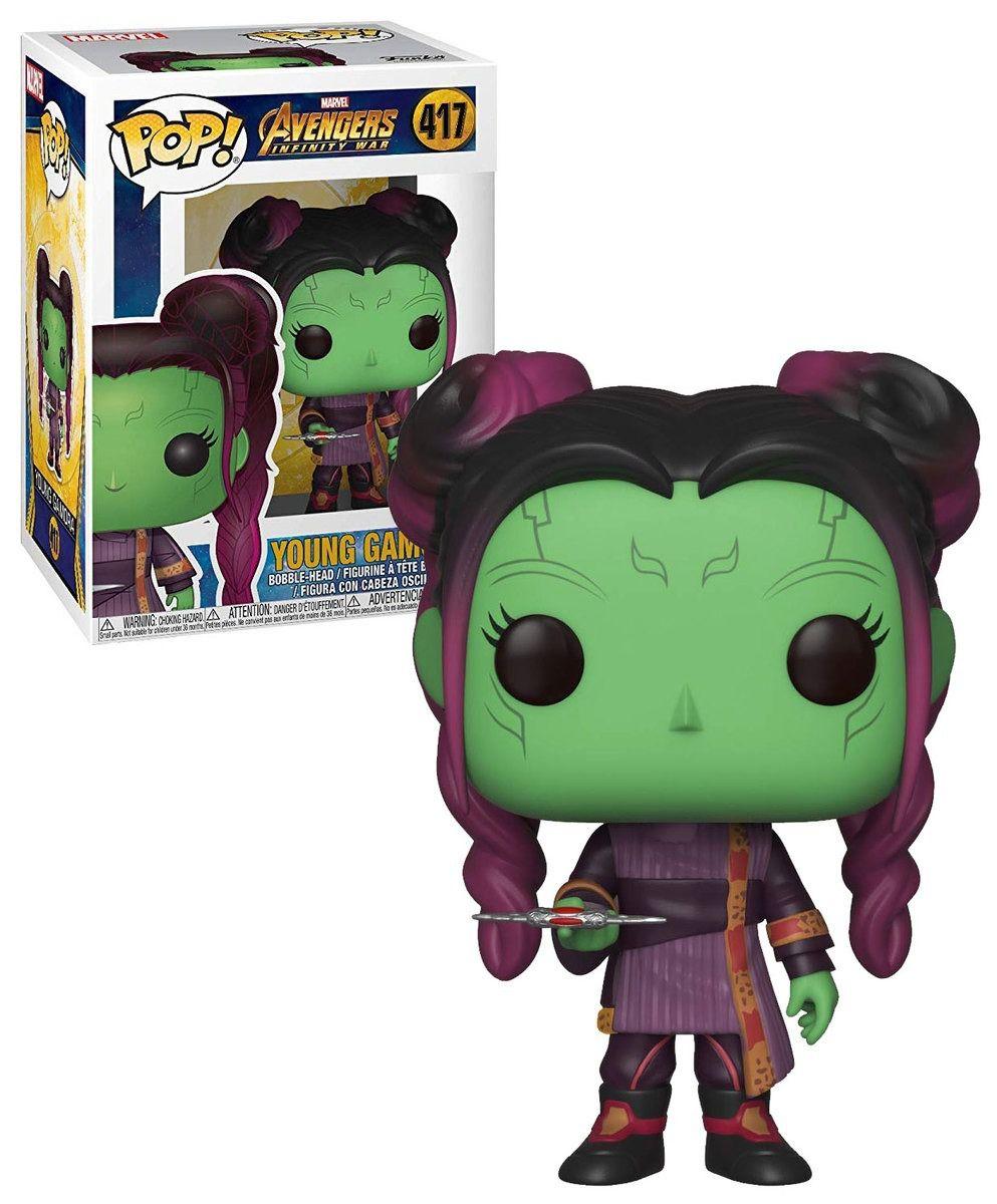 Funko Pop Gamora Young Avengers Marvel Boneco Colecionável