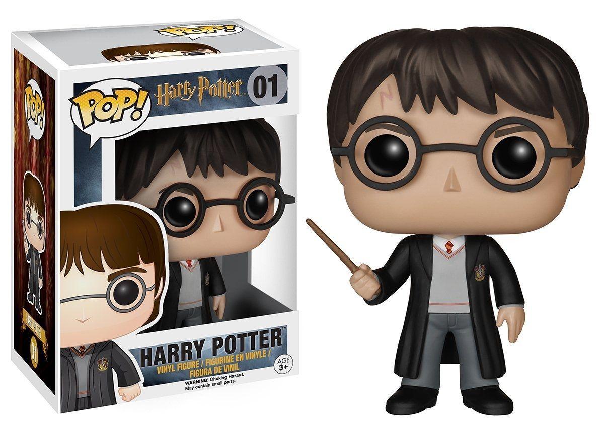 Funko Pop Harry Potter 01 Boneco Filme Colecionável