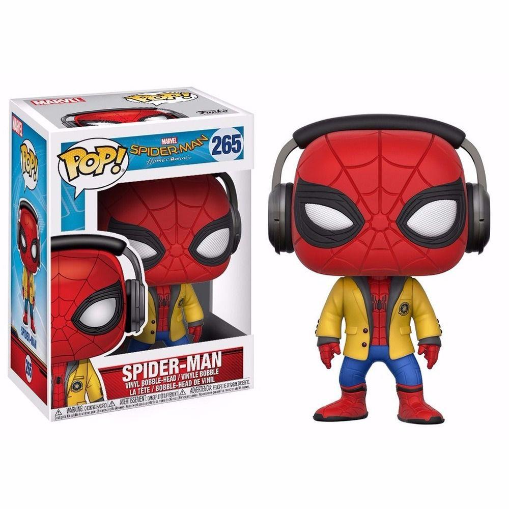 Funko Pop Homem Aranha Spider Man ''Longe de Casa'' Avengers Colecionável