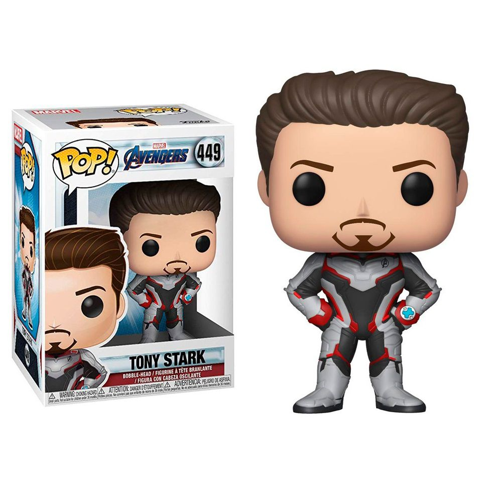 Funko Pop Homem de Ferro Tony Stark Ironman Avengers End Game Marvel Colecionável
