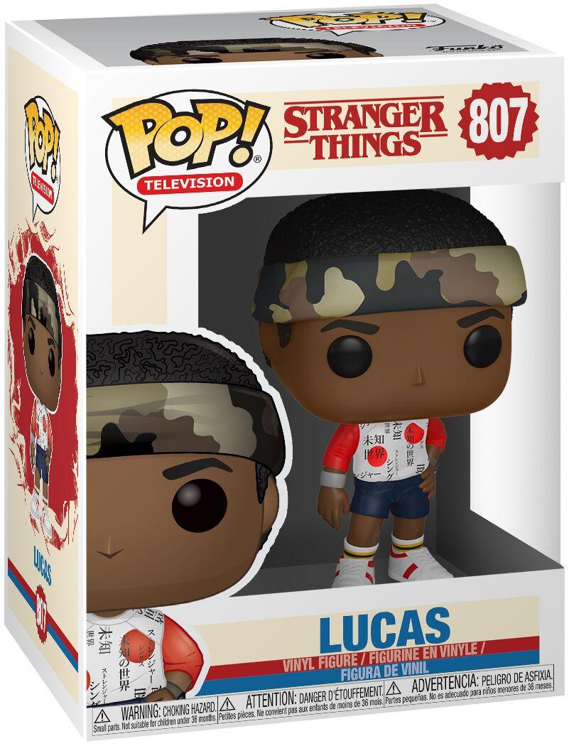 Funko Pop Lucas Stranger Things Série Boneco Colecionável Original