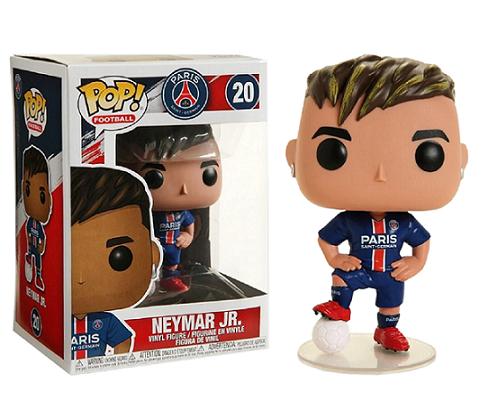 Funko Pop Neymar Jr. Futebol Paris Saint-Germain Boneco Colecionável