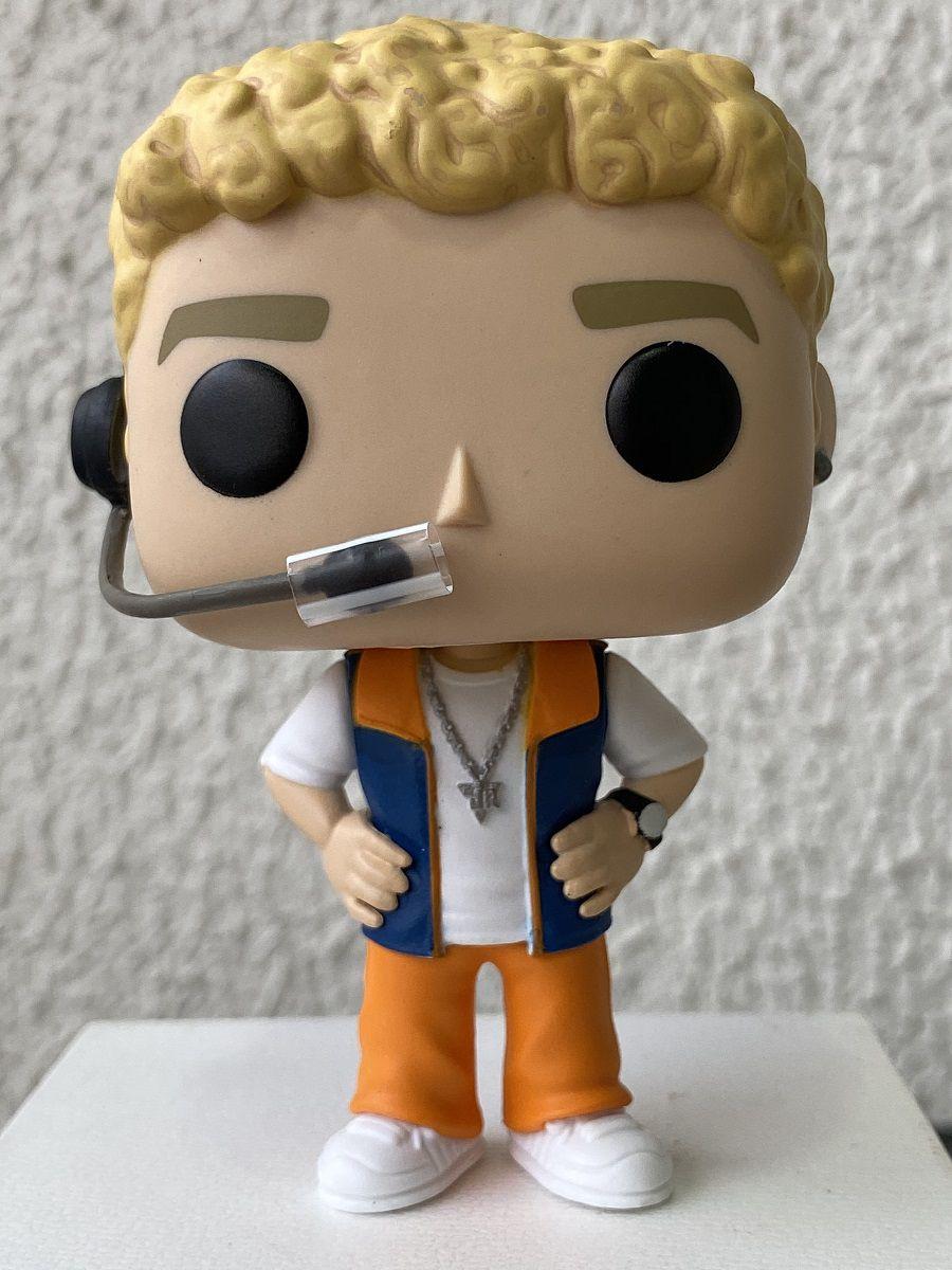 Funko Pop NSync Justin Timberlake - Boneco Colecionável Linha Rocks
