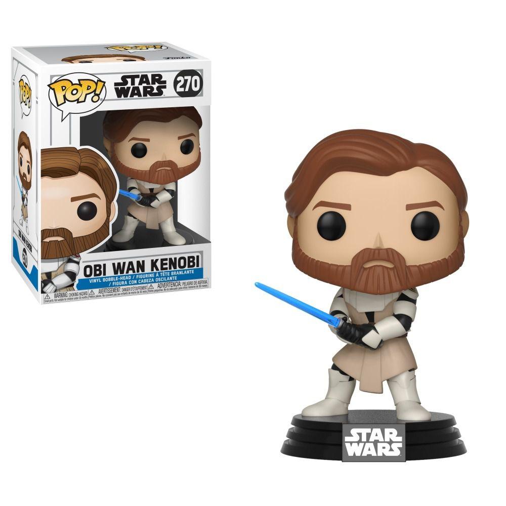 Funko Pop Obi Wan Kenobi 270 Star Wars Boneco Colecionável