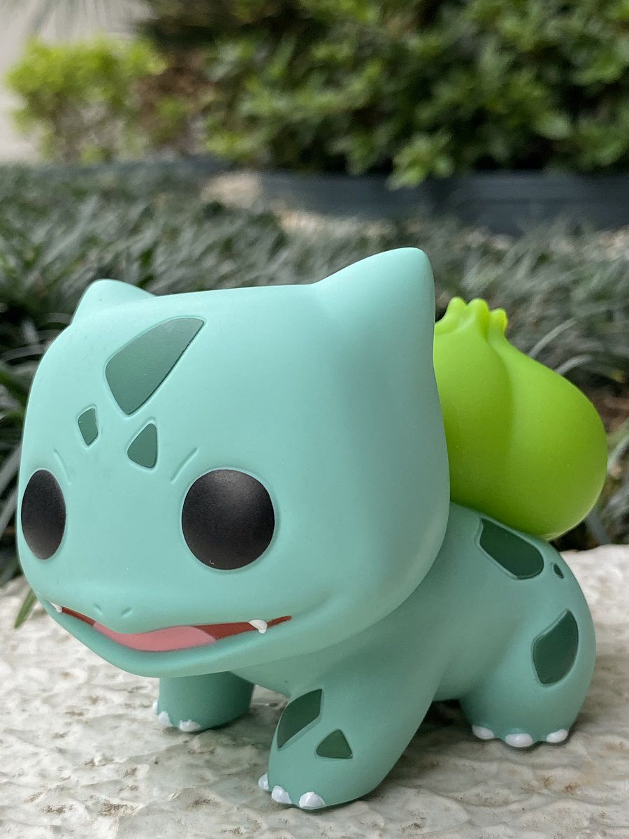 Funko Pop Pokemón Bulbassauro Bulbasaur - Boneco Colecionável Original
