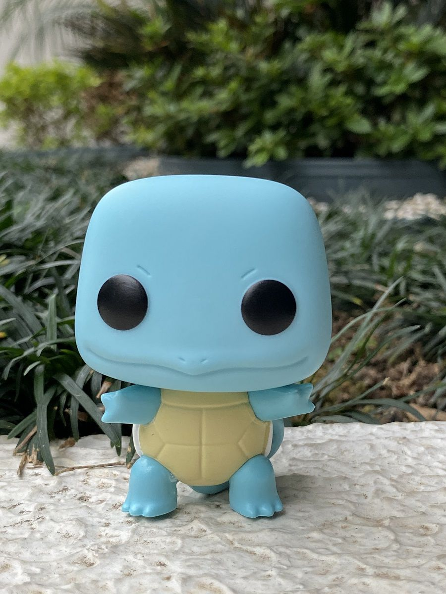 Funko Pop Pokemón Squirtle - Boneco Colecionável Original