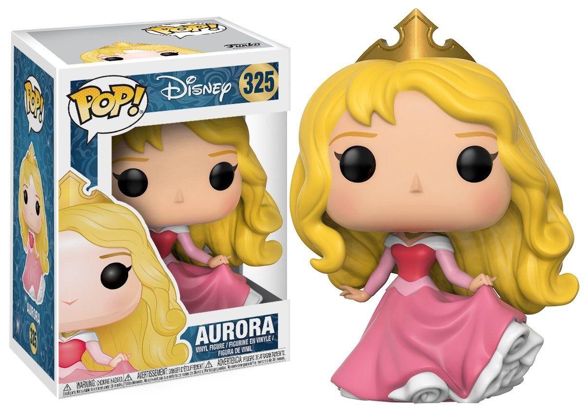 Funko Pop Princesa Aurora 325 Disney Boneco Colecionável