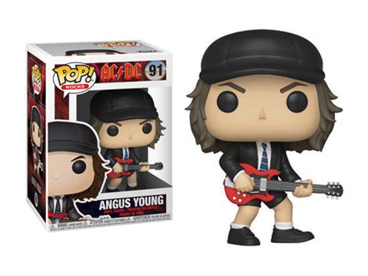 Funko Pop Rocks Angus AC/DC 91 Boneco Colecionável
