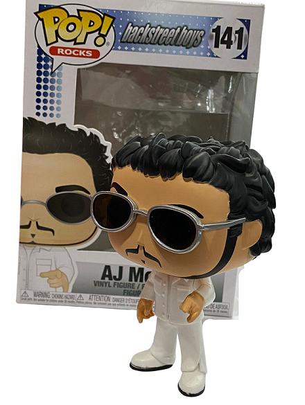 Funko Pop Rocks Backstreet Boys AJ McLean 141 Boneco Colecionável