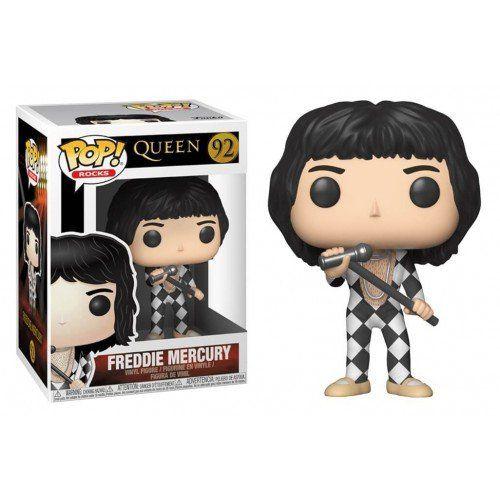 Funko Pop Rocks Freddie Mercury Queen 92 Boneco Colecionável