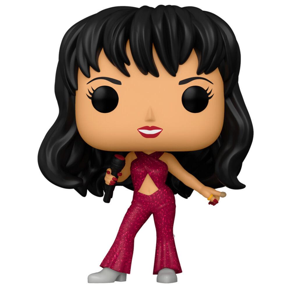 Funko Pop Rocks Selena 205 Boneco Colecionável Diamond Collection Glitter Exclusivo